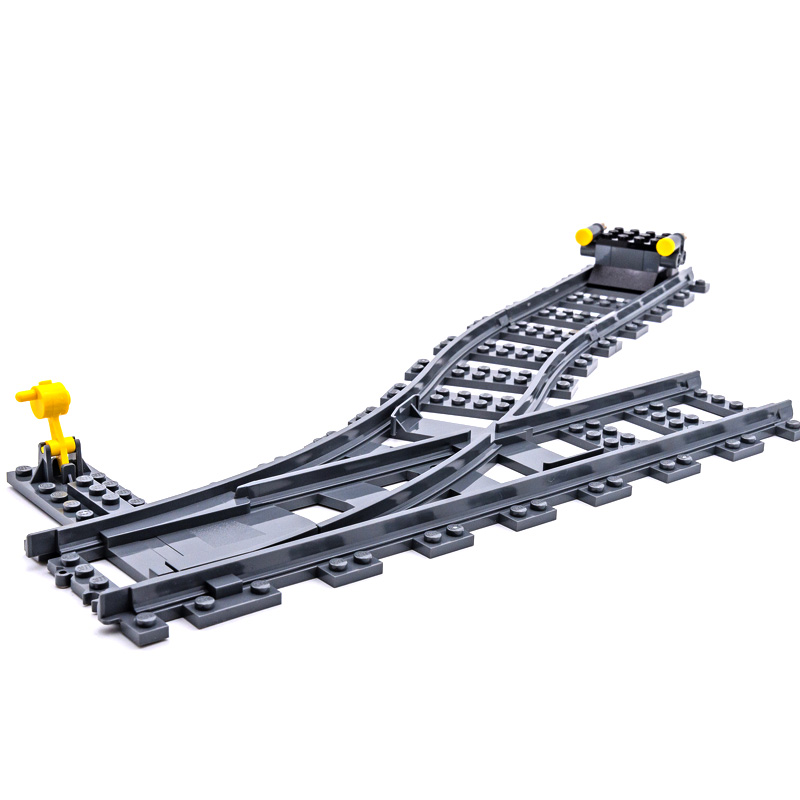 DHL IN Stock 02118 02117 City Cargo Train Remote Control Building Kit Building Blocks Bricks Model Toys Fit for 60198 2