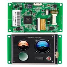 5-дюймовый TFT ЖК-дисплей монитор с процессором сенсорный экран RS232/ интерфейс RS485/ USB-порт