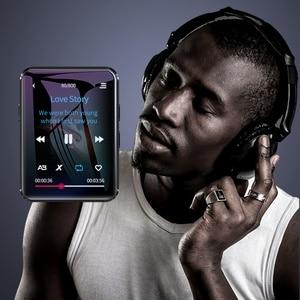 Image 3 - BENJIE X1 Bluetooth מגע מסך MP4 נגן BT5.0 FM רדיו מקלט built רמקול ספר אלקטרוני עם אוזניות תמיכה TF כרטיס