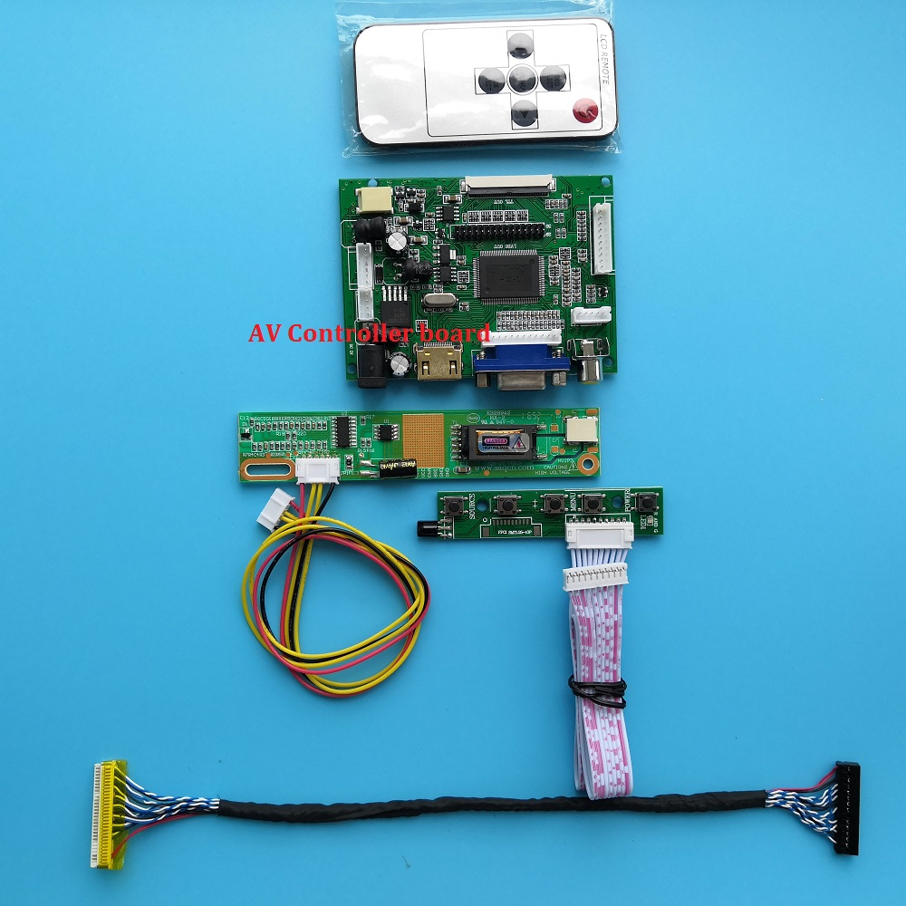 LCD For QD15XL06/M170ETN01/G190ETN01 L Monitor VGA 2AV Kit 30pin Panel Screen HDMI LED Controller Driver Board