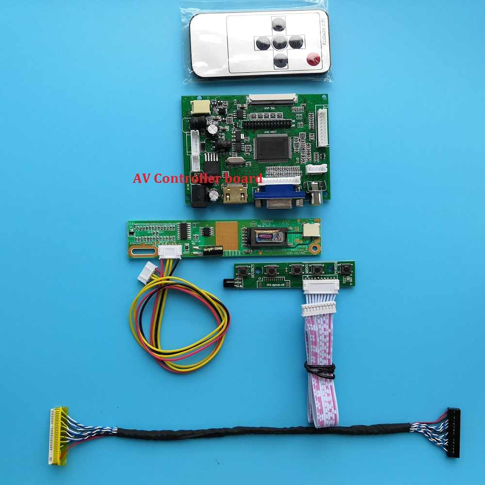 Lcd Voor QD15XL06/M170ETN01/G190ETN01 L Monitor Vga 2AV Kit 30pin Panel Screen Hdmi Led Controller Driver Board