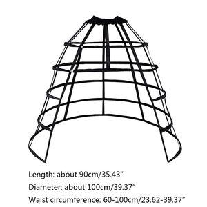 Image 5 - משלוח חינם החדש הולו פרע ציפור כלוב אדרה חצאית תמיכה תחתונית בנות קוספליי אלימות לוליטה חתונה שמלת Underski