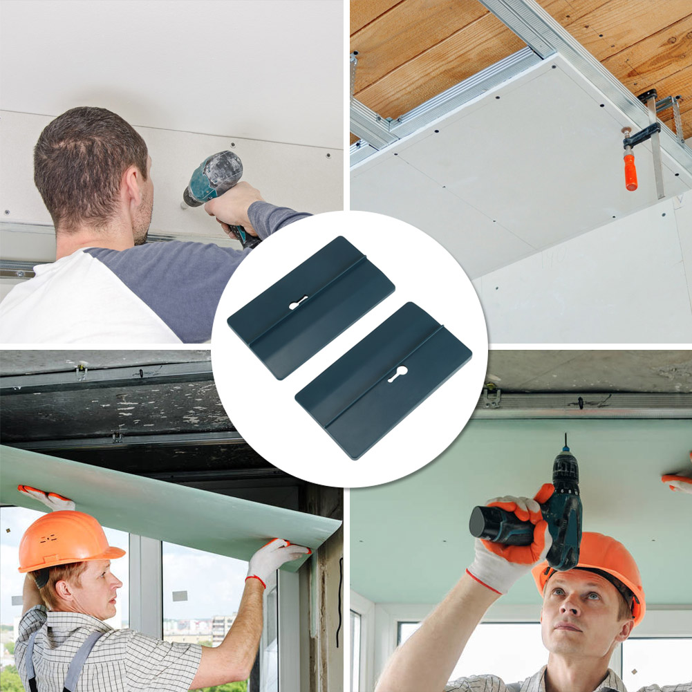 1 Pair Drywall Fitting Tools Supports The Board In Place While Installing LKS99