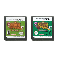 DS Video Game Cartridge Console Card Animal Crossing Wild World Series For Nintendo DS image