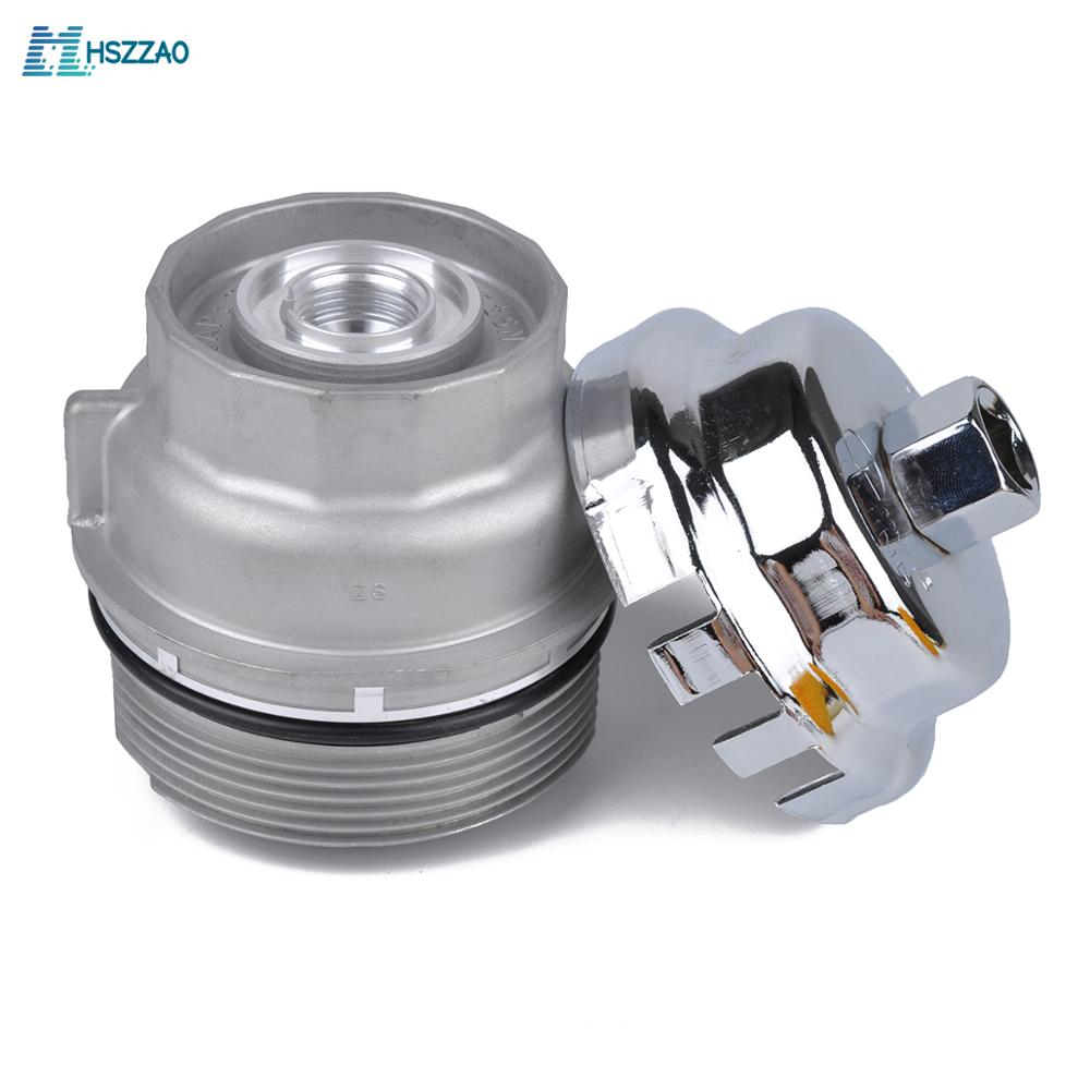 Oil Filter Housing Cap Holder 15620 31060 and Tool WRENCH For Toyota CAMRY RAV4 LAND CRUISER LEXUS GS ES LS IS|Carburetor Parts| |  - title=