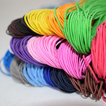 25 Meters/lot Elastis Tali Karet Tali Nilon DIY Gelang Manik-manik String Rambut Strip Aksesori(China)
