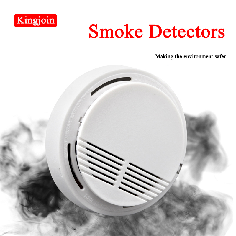 Independent Smoke Monitor Fire Alarm Smoke Detector Protection Alarm Sensor For Home Office Security Home Security Radar Detecto