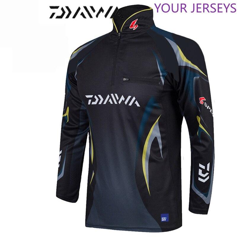2020 Suit DAYIWA Clothing Anti-UV Jacket Fishing Clothes Coat Quick Dry Shirts Camisas Pesca Breathable Free Shpping Pesca Pesca