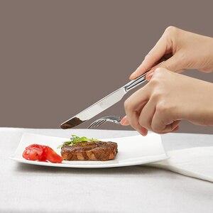 Image 3 - Original Huohou Steak Messer Löffel Gabel Edelstahl Qualität Hohe grade Abendessen Geschirr Haushalt Besteck Set