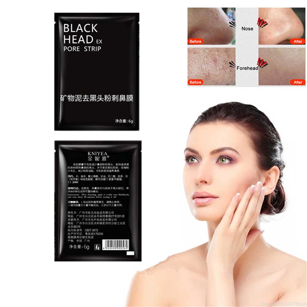 Hitam Spot Remover Kulit Whitening Masker Hidung Pori-pori Grease Deep Cleaning Masker Perawatan Kulit Peel Off Masker Tidur Kecantikan Firming