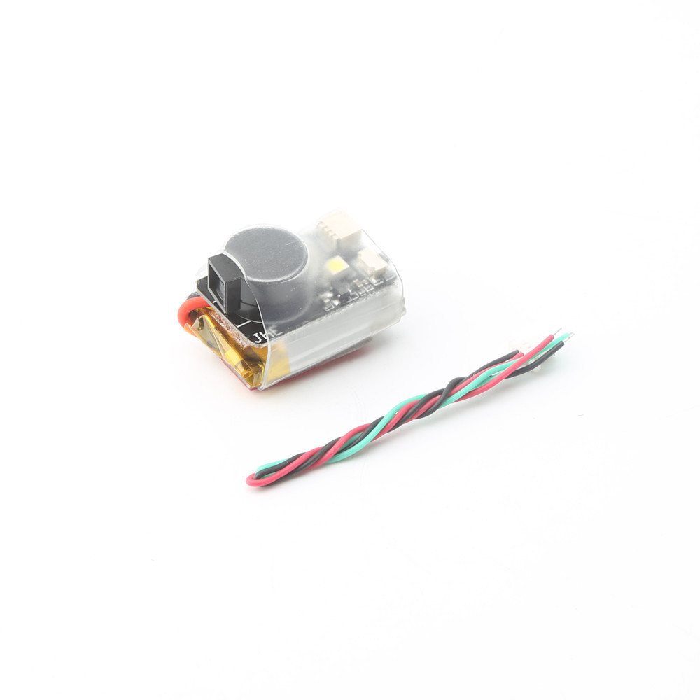 JHE42B 110DB Finder Buzzer Built-in Battery With LED Light For RC Drone F3 F4 F7 Flight Controller RC Models Drone Vifly Finder