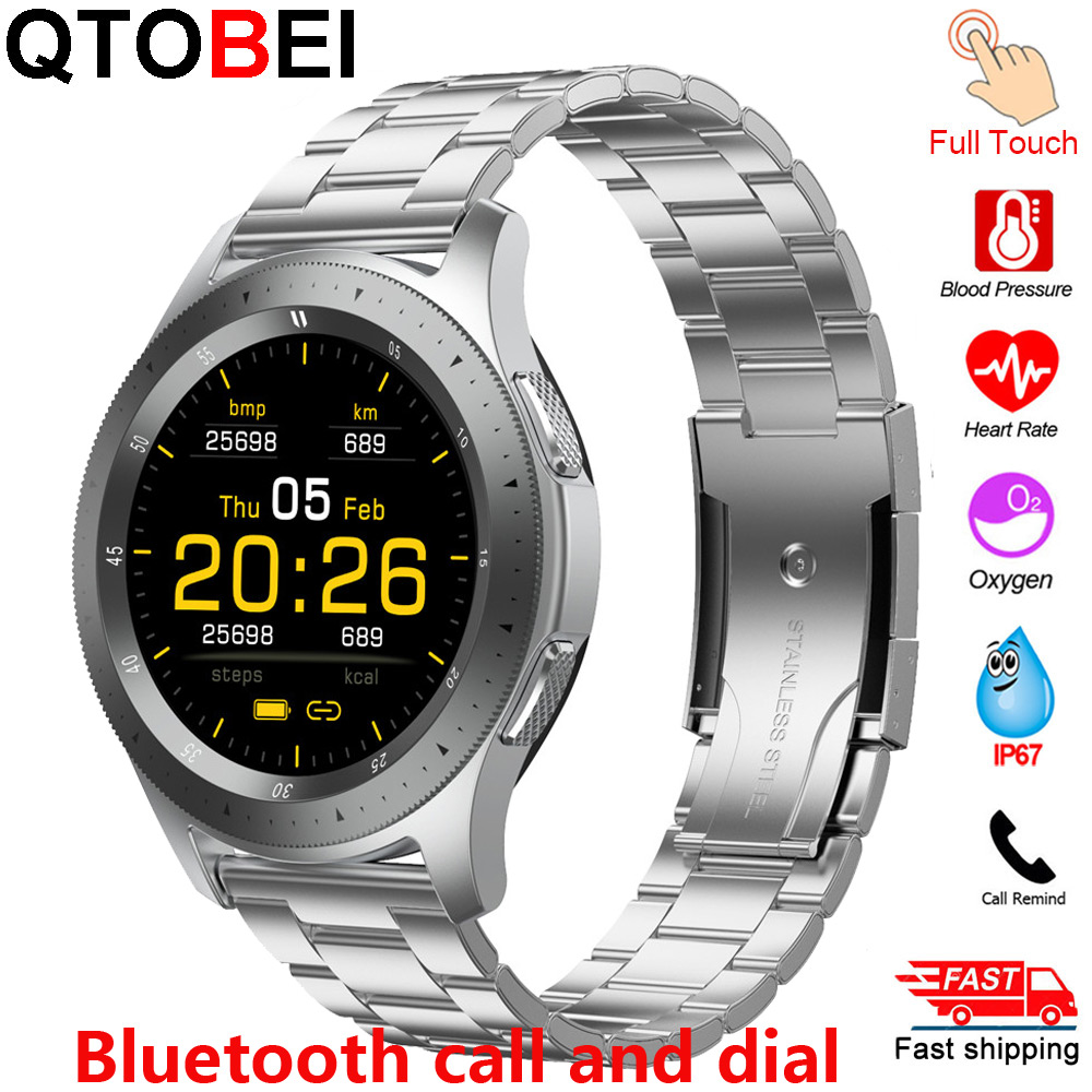 2020 Smart Watch Men Women Bluetooth Call Full Touch Screen Smartwatch Heart Rate Blood Oxygen Monitor Fitness Tracker Watches
