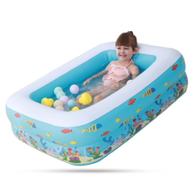 Childrens Home Use Paddling Pool Inflatable Square Swimming Heat Preservation Kids indoor outdoor water inflatable