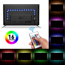 5050 USB Colorful Light Strip Mobile RGB DC5V Epoxy Waterproof 30 Color TV Background