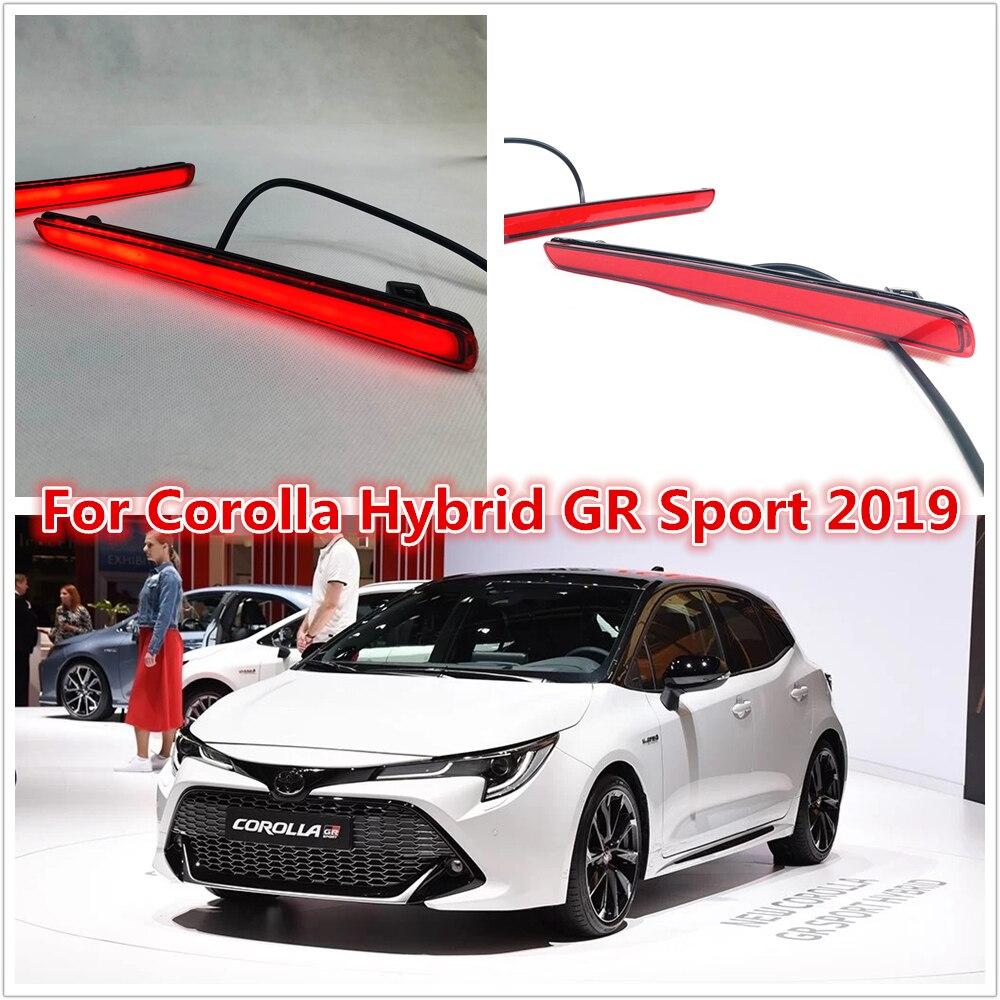 LED Brake Light For Toyota  Corolla Hybrid GR Sport 2019 2020 Daylight Tail Light Back Bar Light Daylight+brake