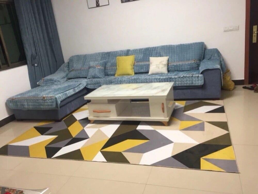 300x300cm tapis rose nordique épaissir tapis doux tapis de jeu de chambre d'enfants/petits tapis modernes de chevet de chambre grands tapis pour le salon