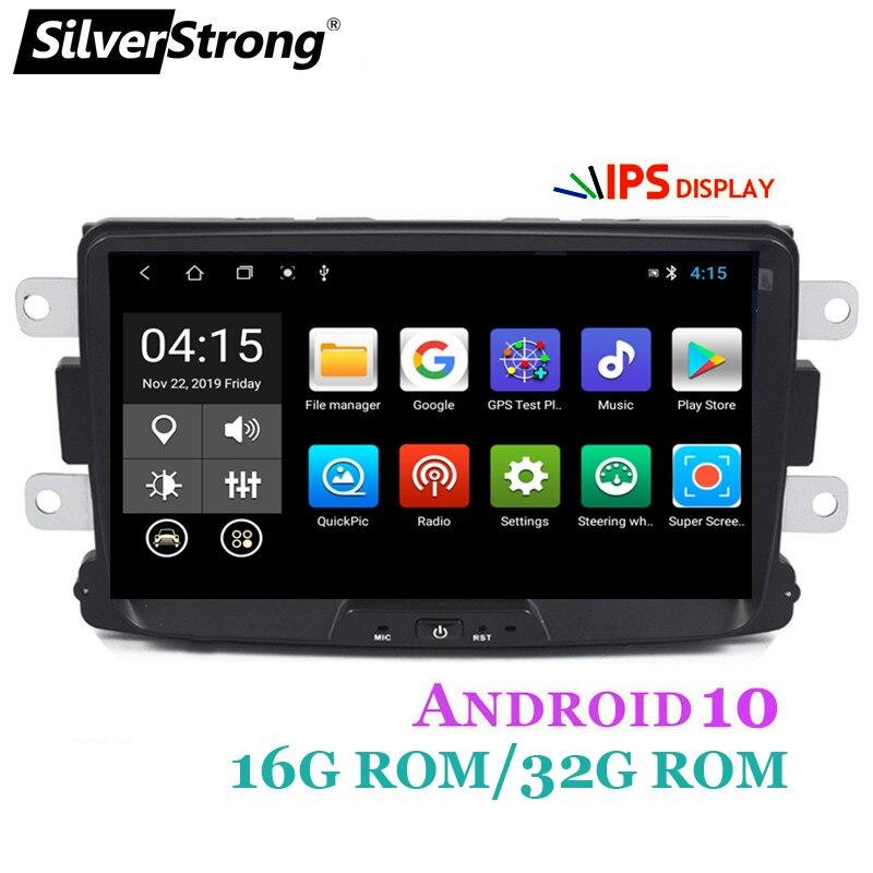 SilverStrong,32GB 8 pulgadas,Quad Core,Radio de coche GPS,para Renault,LOGAN II,Duster,DACIA,Android 10|Car Multimedia Player| - AliExpress
