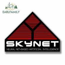 EARLFAMILY-pegatinas creativas de decoración para coche, película Terminator de Skynet de 13cm x 9,5 cm, novedad