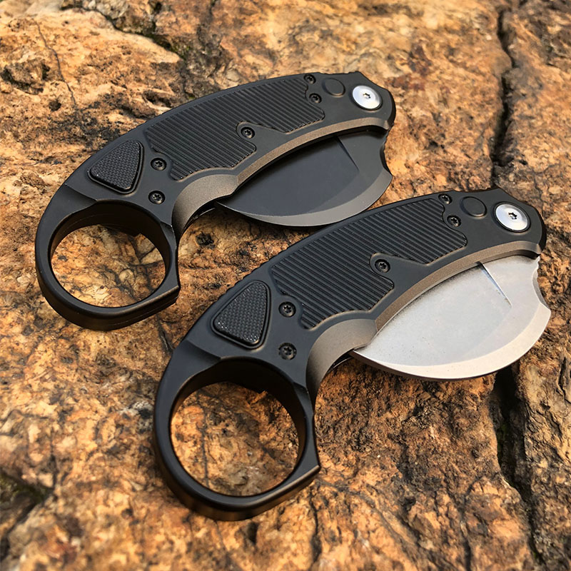 Alloy Products Survival Tools Knives Aluminum Camping Outdoor Self EDC MT  Handle Micro 2020 Aviation Knife Technology New