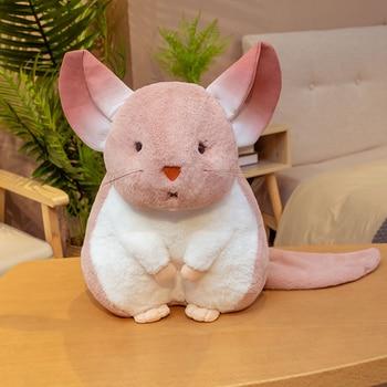 Dropshipping New arrival CUTE plushy Chinchillas soft toy stuffed animal plush doll mascot for kids