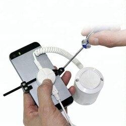 Zdalne sterowanie mobilny stojak na ekran monitoringu do ładowania dla Iphone System antykradzieżowy System smartfon alarm antywłamaniowy z pazurem