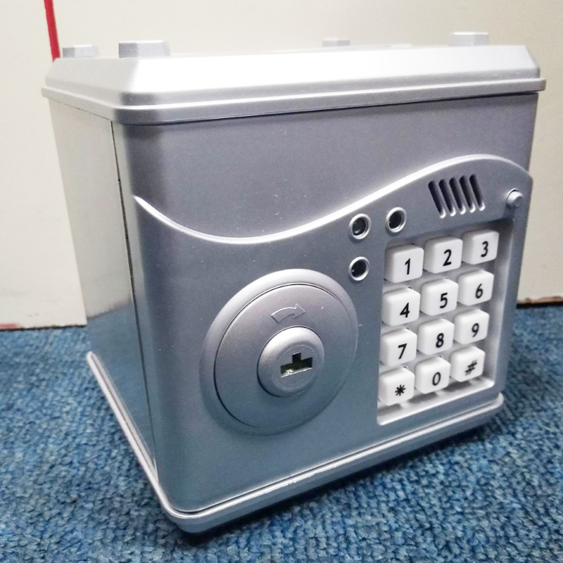 Portable Safety Mini Piggy Safes Box And Security Money Jewelry Storage Collection Box Home Office Security Storage Box DHZ0041