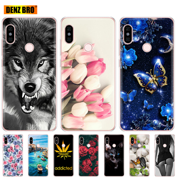 For Xiaomi Redmi Note 5 global version Case bumper soft tpu silicone back Cover For redmi note 5 pro case protective paint shell image