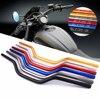 Rizoma 6061 guidão universal de motocicleta, tecnologia de jateamento de liga de alumínio 72cm 1-1/8 ''28 orientação de mm