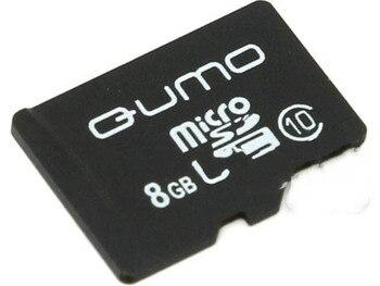 Memory Card 8GB-qumo microSDHC SecureDigital class 10 qm8gmicsdhc10na (original!)