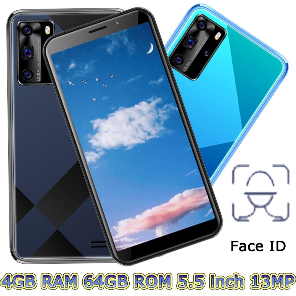 Смартфон глобальная версия 5i lite, 5 Мп + 13 МП, 4 + 64 ГБ, 5,5 дюйма, Face ID