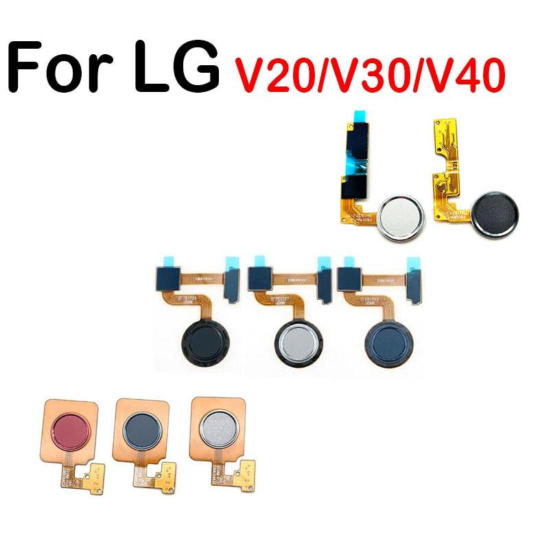 Home Button FingerPrint Touch ID Sensor Flex Cable Ribbon Replacement Parts For LG V20 V30 V40