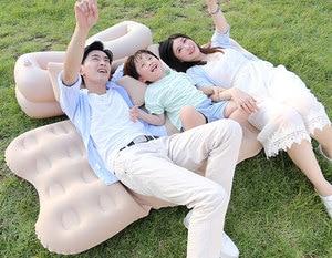 Image 5 - Fresh Car inflatable bed travel mattress car child rear exhaust pad car rear seat car