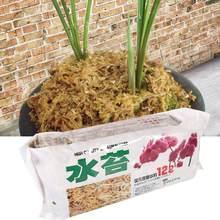 12l nutrição orgânico fertilizante sphagnum musgo para orquídea sphagnum phalaenopsis flor jardim suprimentos