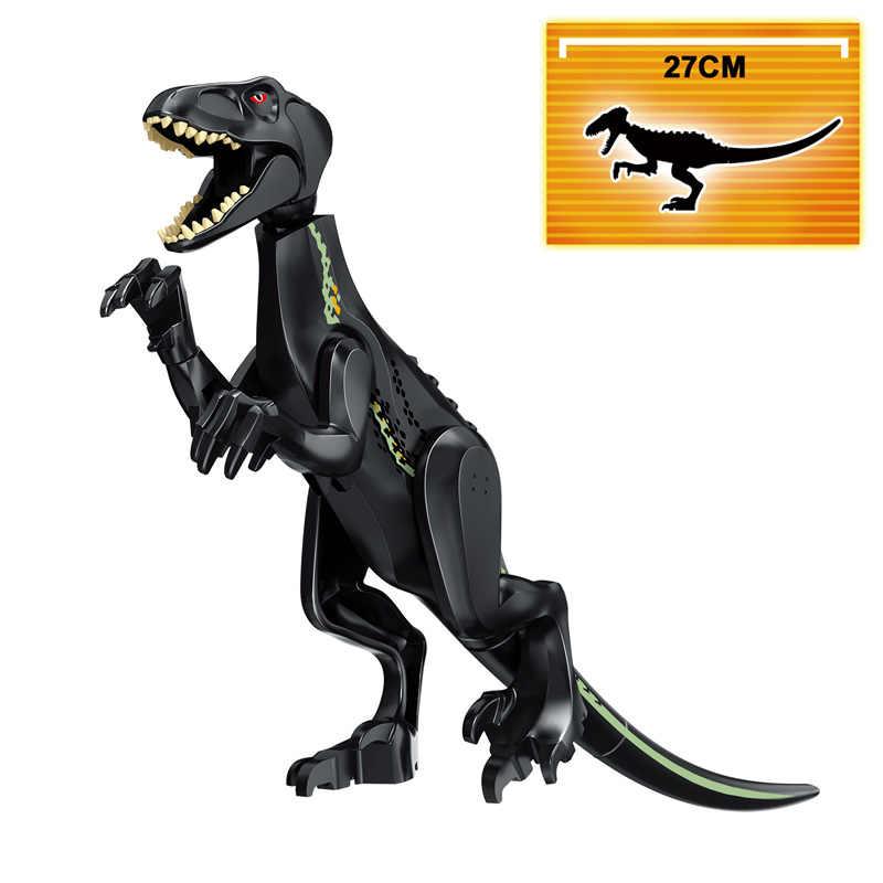 Kitoz Jurassic Toy Dinosaur Dino Velociraptor t-rex Pterosaurs Tyrannosaurus Rex World Park Building Block compatibile con