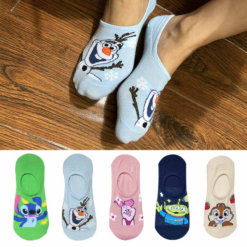 5pairs 10pieces Summer Korea Women Socks Cartoon Squirr Socks Cute Animal Funny Ankle Sock Cotton Invisible Socks Dropship 35 40 Big Deal 2e301 Cicig