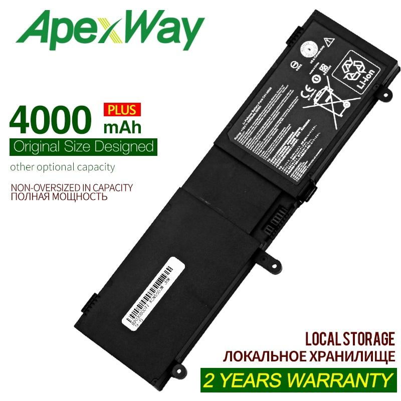 ApexWay 4000mAh 15V Laptop Battery for ASUS C41-N550 N550 N550X47JV N550J N550JA N550JK N550JV ROG G550