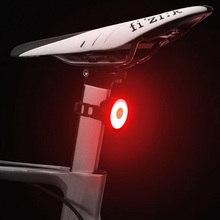 Bicycle Rear Light USB Rechargeable IPX8 Waterproof Bike Light  For MTB Helmet Pack Bag Tail Light 5 Models Cycling Taillight