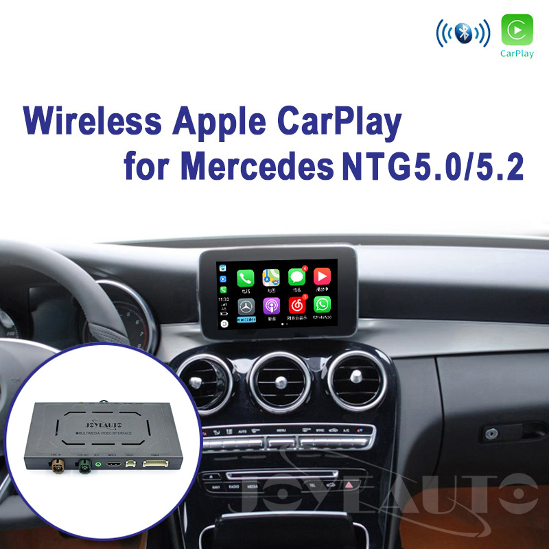 Joyeauto Wireless Apple Carplay Car play Retrofit S Class 15-19 NTG <font><b>5</b></font> W222 for Mercedes Android Auto Mirroring Rear Front CM image