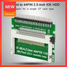 2020 novo cf para ide 44 pinos macho 2.5 polegada compacto masculino adaptador de flash conector v1e1