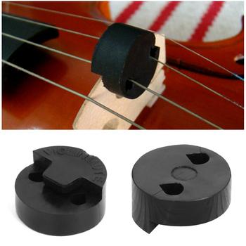1Pc akustyczna guma skrzypce wyciszenie skrzypce tłumik na skrzypce Sourdine narzędzia czarna okrągła guma skrzypce wyciszenie Fiddle tłumik tanie i dobre opinie ZIKO CN (pochodzenie) Skrzypce użytkowania P0RA3T3120 Rubber Black 1 Pc