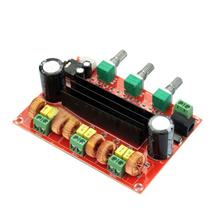 TPA3116 2.1 Digital Audio Amplifier Board TPA3116D2 Subwoofer Speaker Amplifiers DC12V-24V 2*50W+100W стоимость