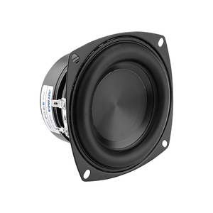 Image 5 - AIYIMA 1Pcs 4 Inch Woofer Speaker Driver Hifi 4 8 Ohm 100W Bass Sound Speaker Waterproof Subwoofer DIY Sound Home Theater