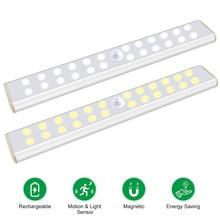 24/40/60LEDs PIR Motion Sensor Closet Lamp Warm White / Whit