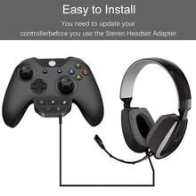 3.5mm סטריאו אוזניות מתאם אוזניות ממיר עבור Xbox אחת בקר אוזניות ממיר ידית סטריאו אוזניות מתאמים