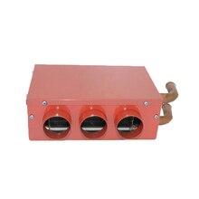 12 В 24 Вт универсальный портативный автомобильный обогреватель Авто фургон нагреватель воздуха компактный Defroster Demister автомобиль электрические приборы красный