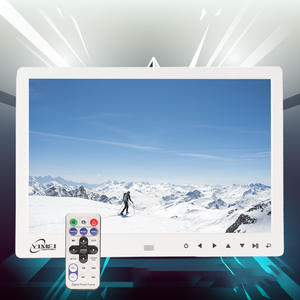 Sd-Card-Player Picture Mp3mp4-Calendar Digital-Photo-Frame Remote-Control Multi-Function