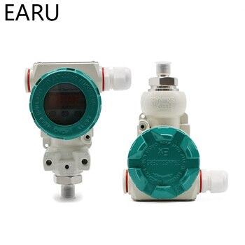 0-5V Output -0.1-60Mpa Intelligent LED Display Silicon Pressure Transmitter Transducer G1/4 Explosionproof Ex Anti-explosion