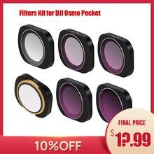 Osmo tasche filter osmo tasche zubehör dji osmo tasche filter ND CPL filter kit für dji tasche ND PL ND4 8 16 32 UV