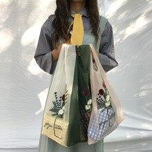 New Women Transparent Tote Organza Yarn Cloth Beach Bag Embroidery Handbag High Quality Eco Clear Hand Bags Purse For Girls