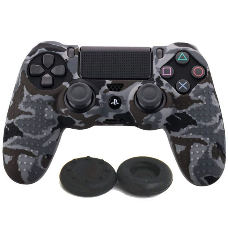 Protective Cover Silicone Case Skin Joystick Thumb Stick Grips Anti Slip Cap Dustproof Game Accessories for Sony PlayStation PS4 in Replacement Parts Accessories from Consumer Electronics